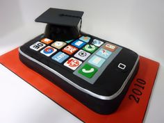 iPhone Graduation - Made this for a college grad whos favorite thing in the…