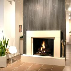 Exceptional Modern Fireplace Tile #12 Modern Tile Around Fireplace