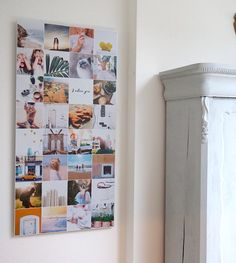 Instawall verticaal • 32 foto's in 1 frame • Aluminium • Wall Collage, Collage Ideas, Home Crafts, Diy Crafts, Holiday Photos, Photo Displays, Family Photos, Fun Facts, Polaroid Ideas