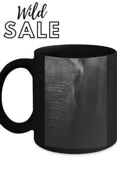 a wonderful idea for a gift, or any occasion get yourself one today Black Animals, Coffee Cups, Elephant, Ceramics, Mugs, Tableware, Prints, Stuff To Buy, Ceramica