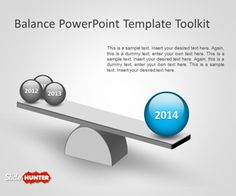 Free Balance PowerPoint Template toolkit is an awesome presentation template (and free) that you can download to make awesome slides with balance and comparison elements