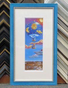 This sky blue frame