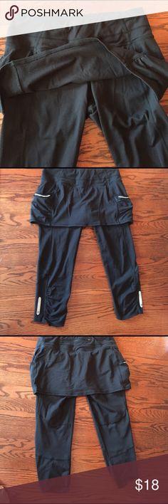 Athleta capry yoga pants and skirts Nice comfort sport pants Athleta Pants Track Pants & Joggers
