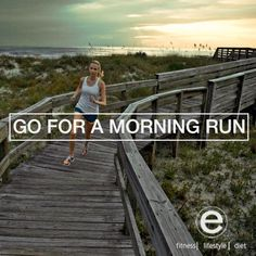 Do it! You would never want to go on evening runs again.