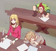 Link at school - the-legend-of-zelda Fan Art (Groose, Link, and Zelda: Skyward…