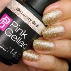Smalto semipermanente - 130 Luxury Gold 15 ml