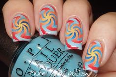 What's up nails - Hypnose vinyls, hot and cold gradient. (More Nail Polish)