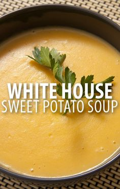 Rachael Ray visited the White House kitchen to enjoy a Sweet Potato Soup Recipe with First Lady Michelle Obama on the fourth anniversary of Let's Move. http://www.recapo.com/rachael-ray-show/rachael-ray-recipes/rachael-ray-sweet-potato-soup-recipe-lets-move-4th-anniversary/