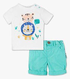 Baby-Outfit in der Farbe weiß bei C&A