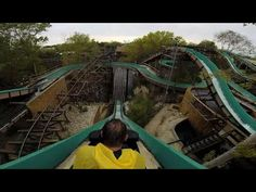 Welcome to Silver River Flume! Far West water ride of PortAventura. Filmed with GoPro HD 1080p - On Ride - POV Back Seat - Halloween PortAventura 2014  Promotion www.theluxetoys.com