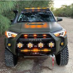 Toyota Trd Pro, Toyota Trucks, Toyota 4runner, Four Runner, 4runner Accessories, Overland Truck, Cool Trucks, Land Cruiser, Jeeps