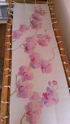 Cherry blossom dupatta