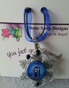 Doctor Who holiday pendant