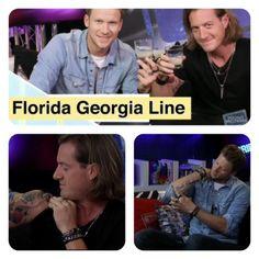 Florida Georgia Line Talk Tats & More With Young Hollywood #FloridaGeorgiaLine #YoungHollywood