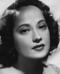 """Merle Oberon - actress who appeared in many films, but best known for her role as Cathy in """" Wuthering Heights"""". She died on Nov 23, 1979 at the age of 68"""