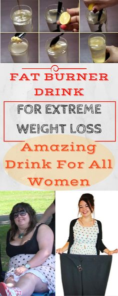 Exercise Inspiration: FAT BURNER DRINK – FOR EXTREME WEIGHT LOSS (10 KIL...
