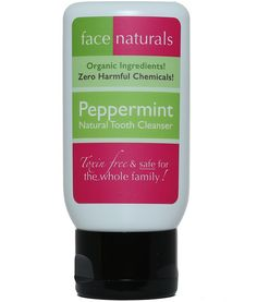 Face Naturals | Peppermint Natural Tooth Cleanser