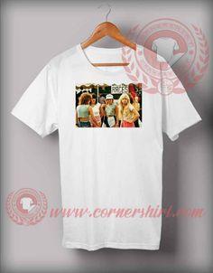 1980s Fashion for Teenage Girls T shirt Price: 12.00 #trendingshirt Custom Made T Shirts, Custom Design Shirts, Shirt Designs, Cheap Shirts, How To Make Tshirts, Shirt Price, Custom T, 1980s, Sweatshirts