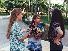With Step by Step Costars Angela Watson and Staci Keanan on Location in Hawaii http://www.snakkle.com/galleries/exclusive-photos-step-by-step-star-christine-lakin-gives-snakkle-an-inside-look-at-90s-sitcom-life/christine-lakin-staci-keanan-step-by-step-photo-gc/