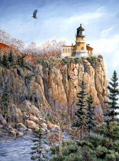 Lighthouse by Wanda Mumm