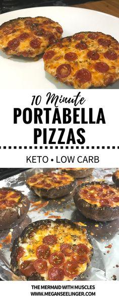 Pizza portobello mushroom