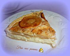 Flan aux pommes - Chez Vanda