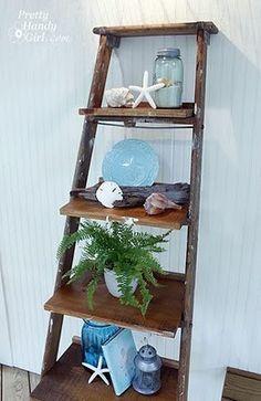 Wonderful shelving idea!