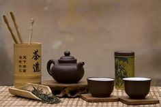 Traditional Chinese Tea Set by -Gabri photography-, via Flickr