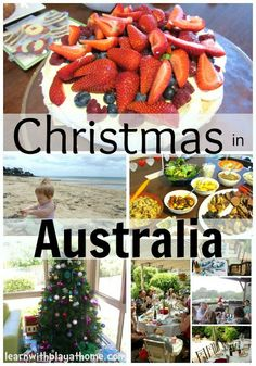Learn with Play at Home: Christmas in Australia....I love how this article explains our christmas there are many people in the world that think everywhere it snows!
