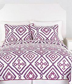 Trina Turk Ventura Purple Quilt Collection #Dillards