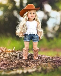 """276 Likes, 54 Comments - Me & My Princess  (@meandmyprincess) on Instagram: """"Tenney I really love dressing Tenney in western wear, she always looks so great in it. Which doll…"""""""