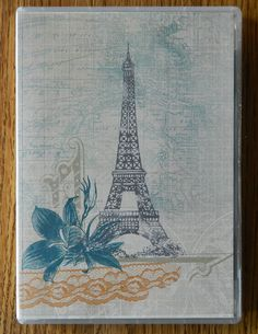Decorative Note Pad Case made with Stampin' Up!(c) Fan Fair Papers