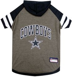 Pets First Dallas Cowboys Hoodie T-Shirt ** See this great image  : Cat Apparel