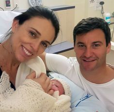New Zealands Leader Jacinda Ardern Delivers a Baby Girl