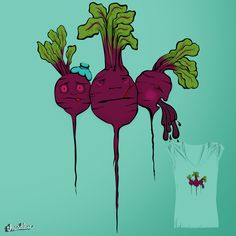 Sick Beets on Threadless would love your vote! graphic-t Food Puns, Beets, Sick, Colour, Creative, Fun, Design, Color, Design Comics