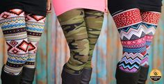 Printed Leggings Clearance