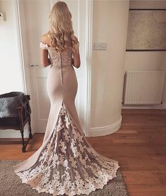 Elegant Mermaid Off the Shoulder Elastic Satin Brush Long Prom Dresses with Applique, Long Evening Dresses ( except will be purple or blue) Prom Dresses 2018, Prom Dresses With Sleeves, Mermaid Prom Dresses, Ball Dresses, Evening Dresses, Dress Prom, Lace Prom Gown, Mermaid Evening Gown, Dance Dresses