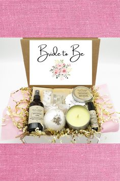 Get the bride to be pumped up for her wedding day with this unique bridal shower gift! Stress relief spa set includes an organic essential oil-based bath bomb, bath soak, room/linen spray, aromatherapy roll-on, and beeswax & coconut candle. Your choice of lavender, lemongrass, or peppermint essential oil. Includes personalized note & free shipping in the US. #mysuccess Essential Oils For Stress, Organic Essential Oils, Reduce Stress, How To Relieve Stress, Unique Bridal Shower Gifts, Glass Roller Bottles, Fizzy Bath Bombs, Unrefined Coconut Oil, Stress Relief Tips