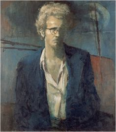 Clifton Pugh ~ Self-Portrait, 1954