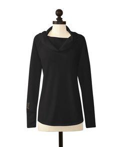 Vanderbilt Commodores | Cowl Neck Sweater | meesh & mia