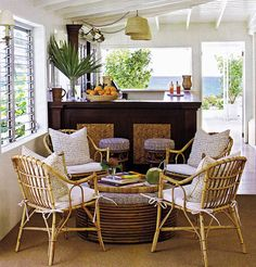 Sculpture of Various Elegant and Comfortable Furniture for Casual Sunroom without Making it Less Expensive