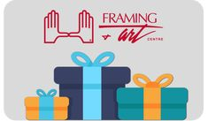 Gift Items - Framing & Art Centre #giftcard #giftideas