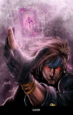 ArtStation - Gambit, Kareem Ahmed