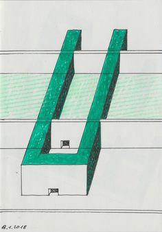 2018 Quaderni Azzurri 3.10 //Still life by Brunetto De Batté 3, Still Life, Skyscraper, Building, Skyscrapers, Buildings, Construction, Architectural Engineering
