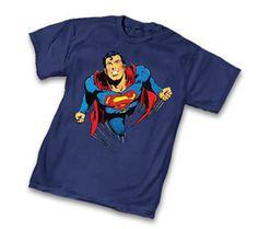 Superman Free Flight by Neal Adams T-Shirt Superman Kids, Superman Family, Man Of Steel, Nerdy, Mens Tops, T Shirt, Free, Shopping, Fashion