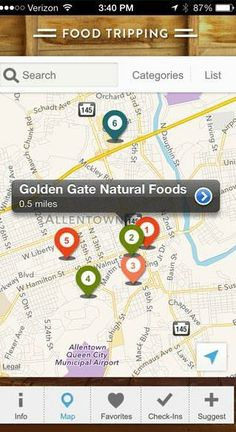 food tripping app finds healthy eats in your area