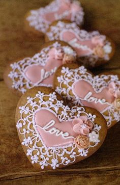 アイシングクッキー icing cookies#sugarcookies #Valentine's Day#heart