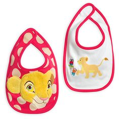 Nala Bib Set for Baby - 2-Pack - The Lion King