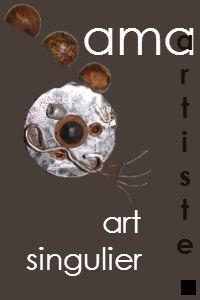 Ama artiste, bijoux, sculptures art singulier http://ama.strikingly.com/