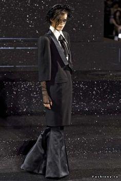 Chanel Haute Couture осень-зима 2011-2012 / последняя коллекция шанель